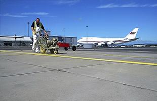 Разметка аэродромов